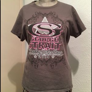 🦋New List🦋2014 George Strait Farewell Tour Shirt